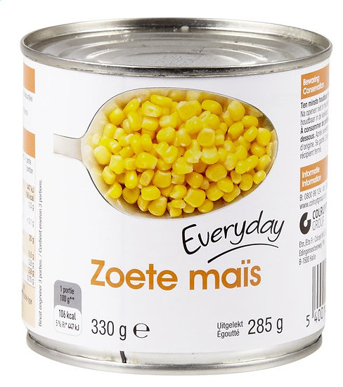 Everyday zoete maïs