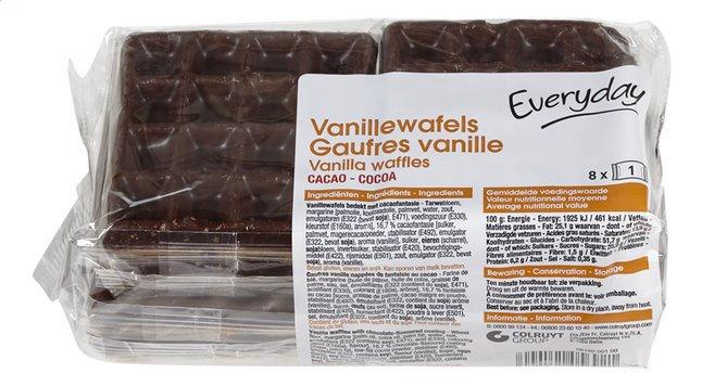 Everyday vanillewafels met chocolade