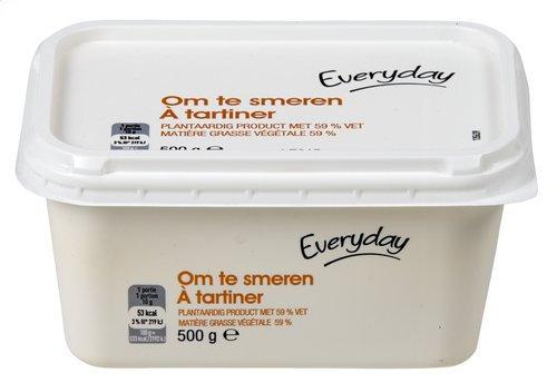 Everyday margarine smeren vlootje