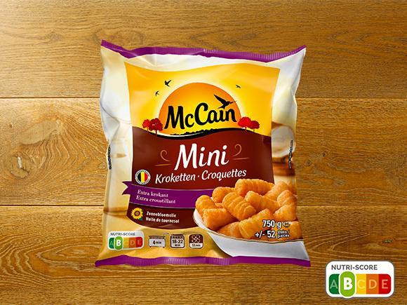 McCain aardappelkrokketten mini 1,5kg