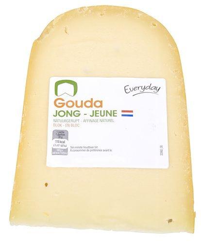 Jonge Gouda kaas 250 g
