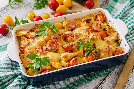 vegetarian-vegetable-casserole-with-zucc