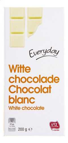 Everyday witte chocolade