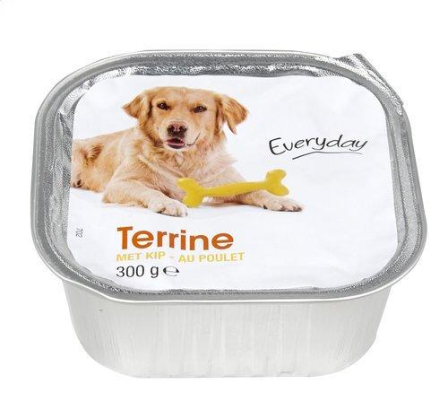 Everyday hond terrine kip
