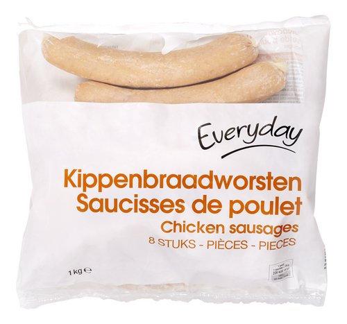 Everyday kippenworst 1 kg