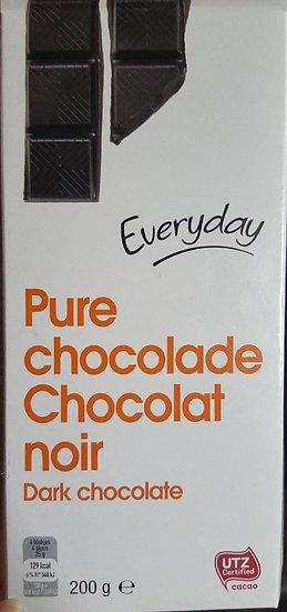 Everyday pure chocolade