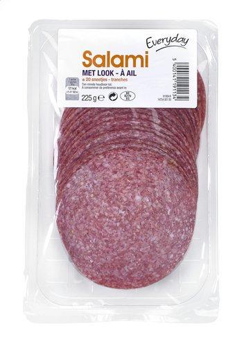 Everyday salami met look