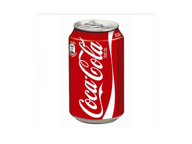 Coca Cola blik 33 cl