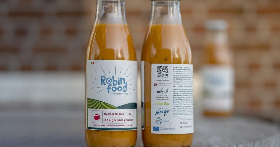 Robin Food tomaat-paprika