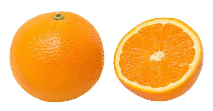 Sinaasappel eet per 100gr.