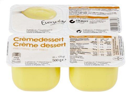 Everyday creme dessert vanille