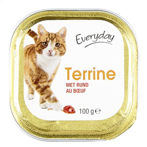 Everyday kat terrine rund