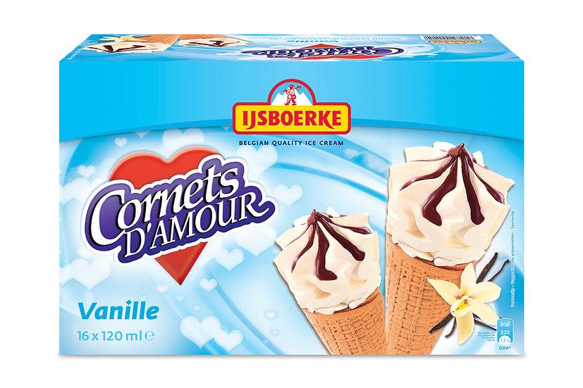 Ijsboerke cornet vanille