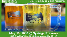 We'll see y'all May 19th at Springs Preserve - Brews & Blues Festival!