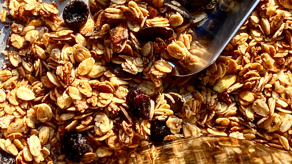 Granola with raisins - 9 oz