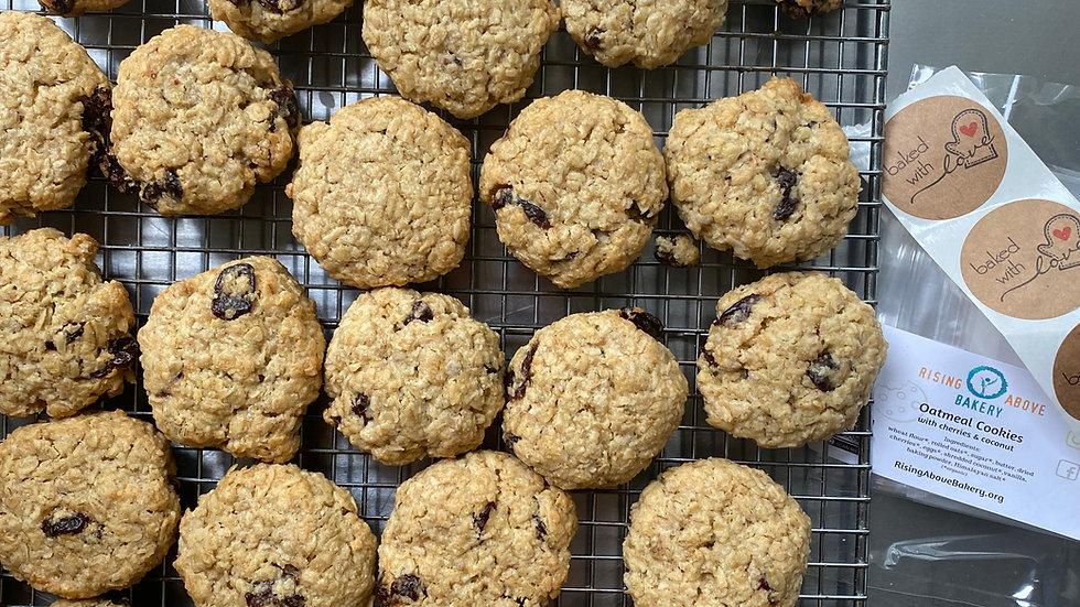Oatmeal Cookies -Cherry & Coconut