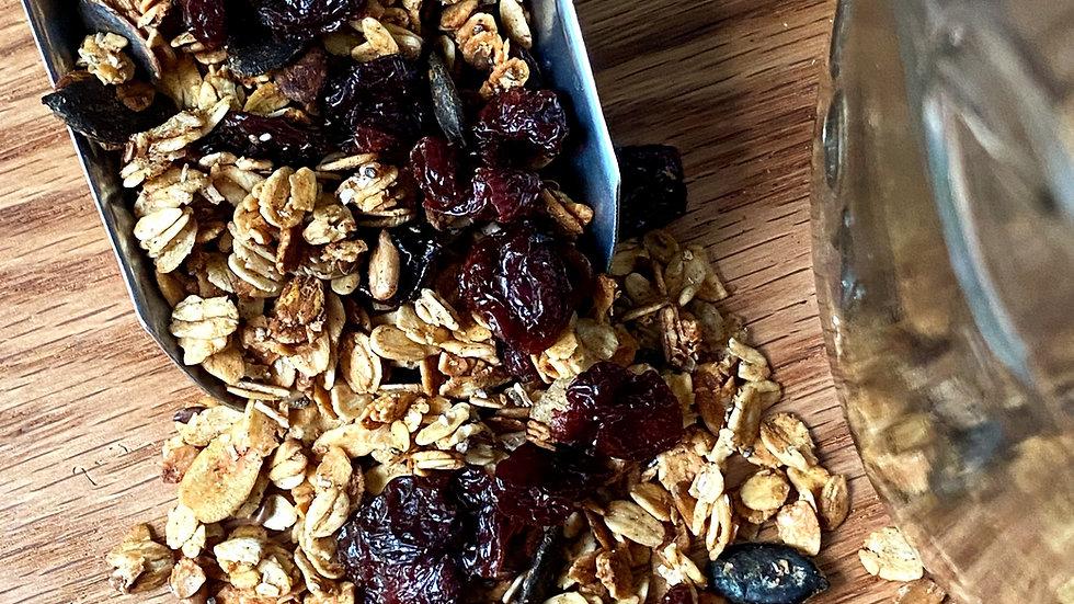 Granola with dried cherries - 9 oz
