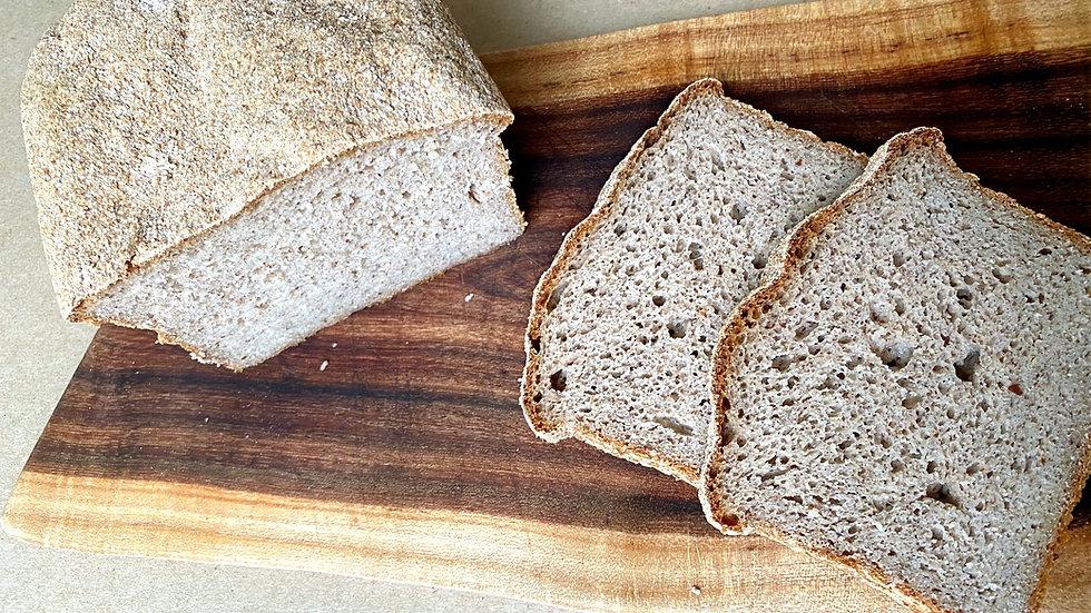 GF Light Buckwheat Loaf