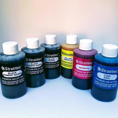 Pigment & Dye Black w/Color Combo Kit