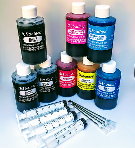 Black & Color Combo Kit w/Photo Colors & Filling Supplies