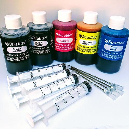 Black Dye & Color Combo w/Filling Supplies