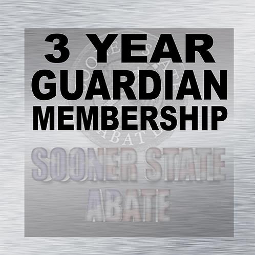3 Year Guardian Membership