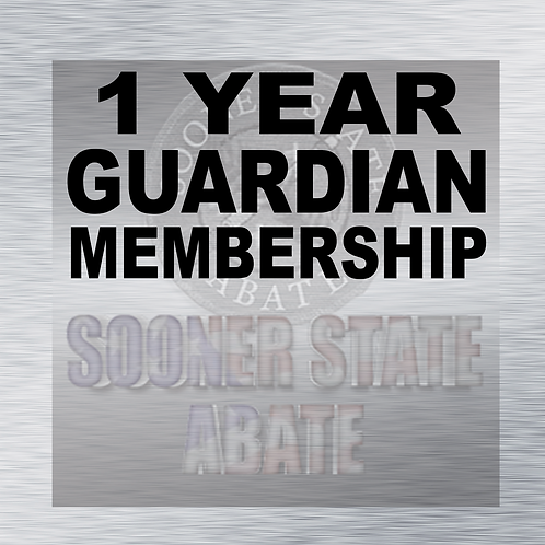 1 Year Guardian Membership
