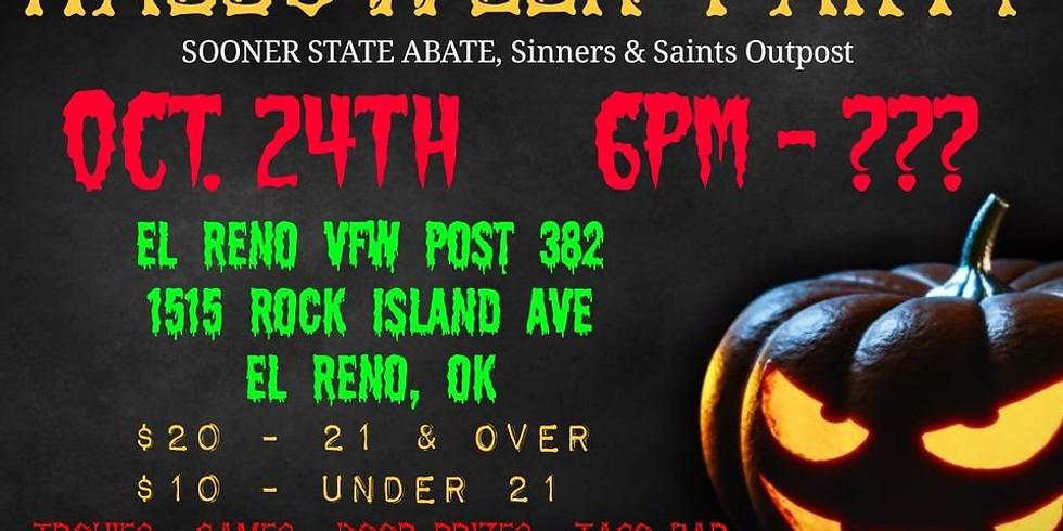 Sinners & Saints Halloween Party