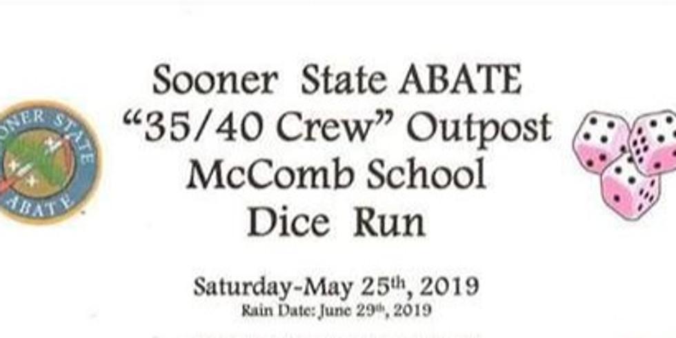 McComb School Dice Run