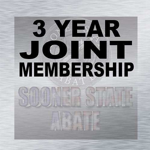 3 Year Joint Membership