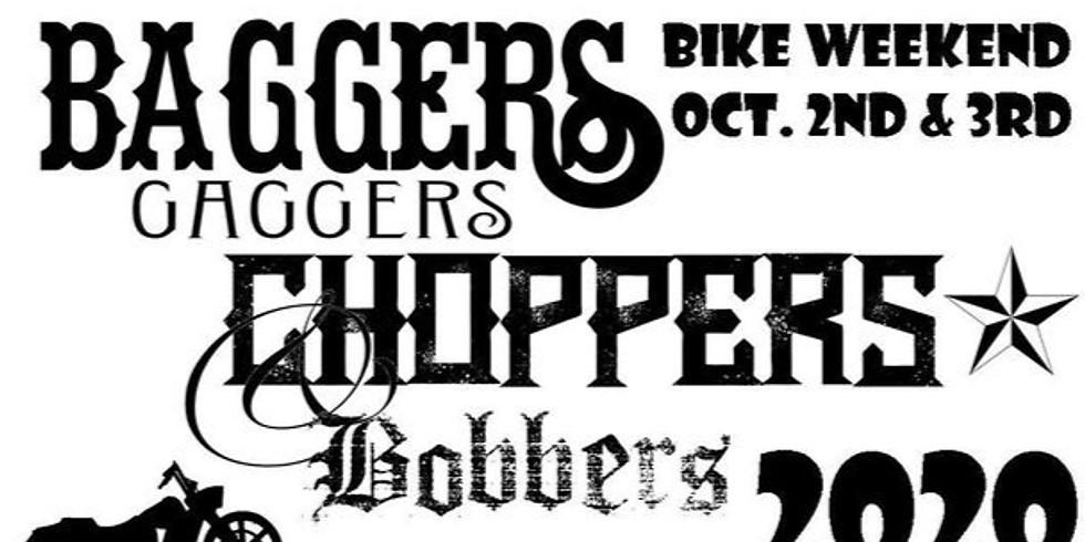 Baggers Gaggers Choppers  Bike Weekend