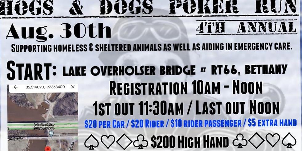 4th Annual Hogs & Dogs Poker Run