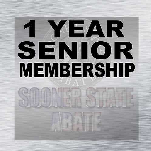 1 Year Senior Membership