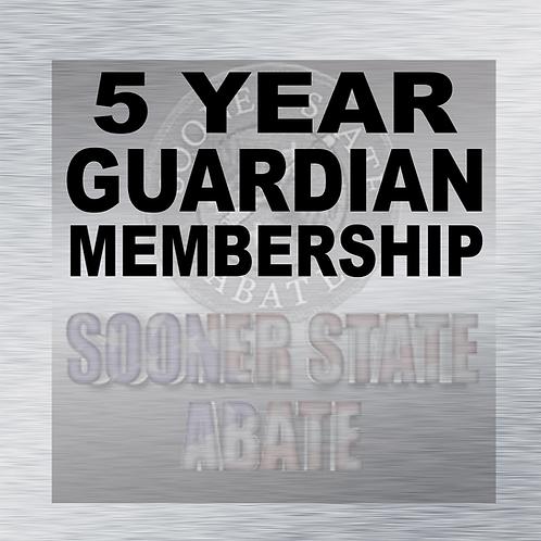 5 Year Guardian Membership
