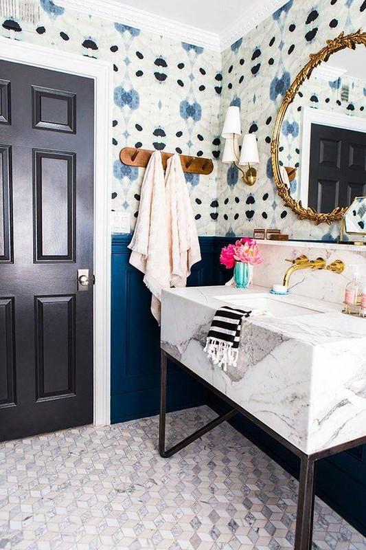 13-bold-wallpaper-ideas-for-your-powder-room-powder-room-wallpaper-watercolor-ikat-58346e053a01f6083b057cc8-w620_h800