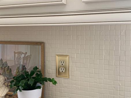 Quick Project Idea: Painting the Kitchen Tile Backsplash
