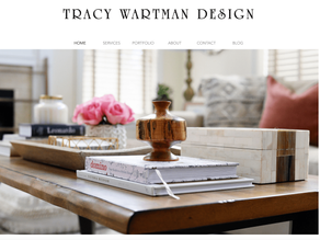 Take a tour of my new website!