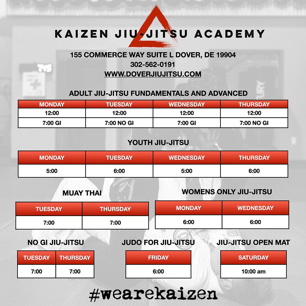 Kaizen BJJ Only Schedule 12:15:20 phone