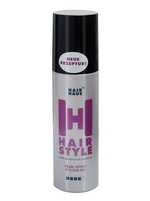 Hair Haus HairStyle Pearl Effect Styling Gel XXL 150ml