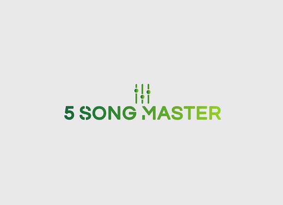5 Song Master