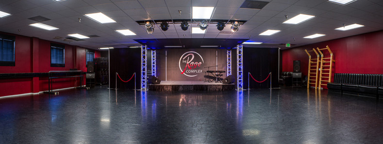 Studio 6 - 2450 sq ft Space w/Stage