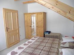 Schlafzimmer, Ferienwohnung Enzian