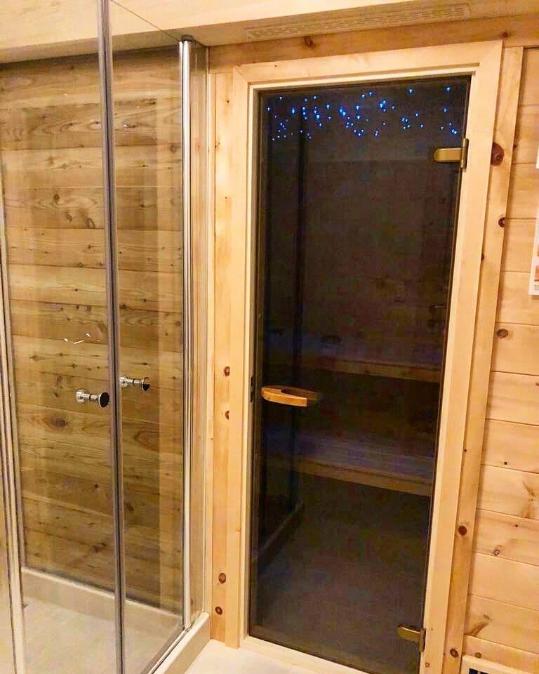 Haus Edelgrün, Sauna