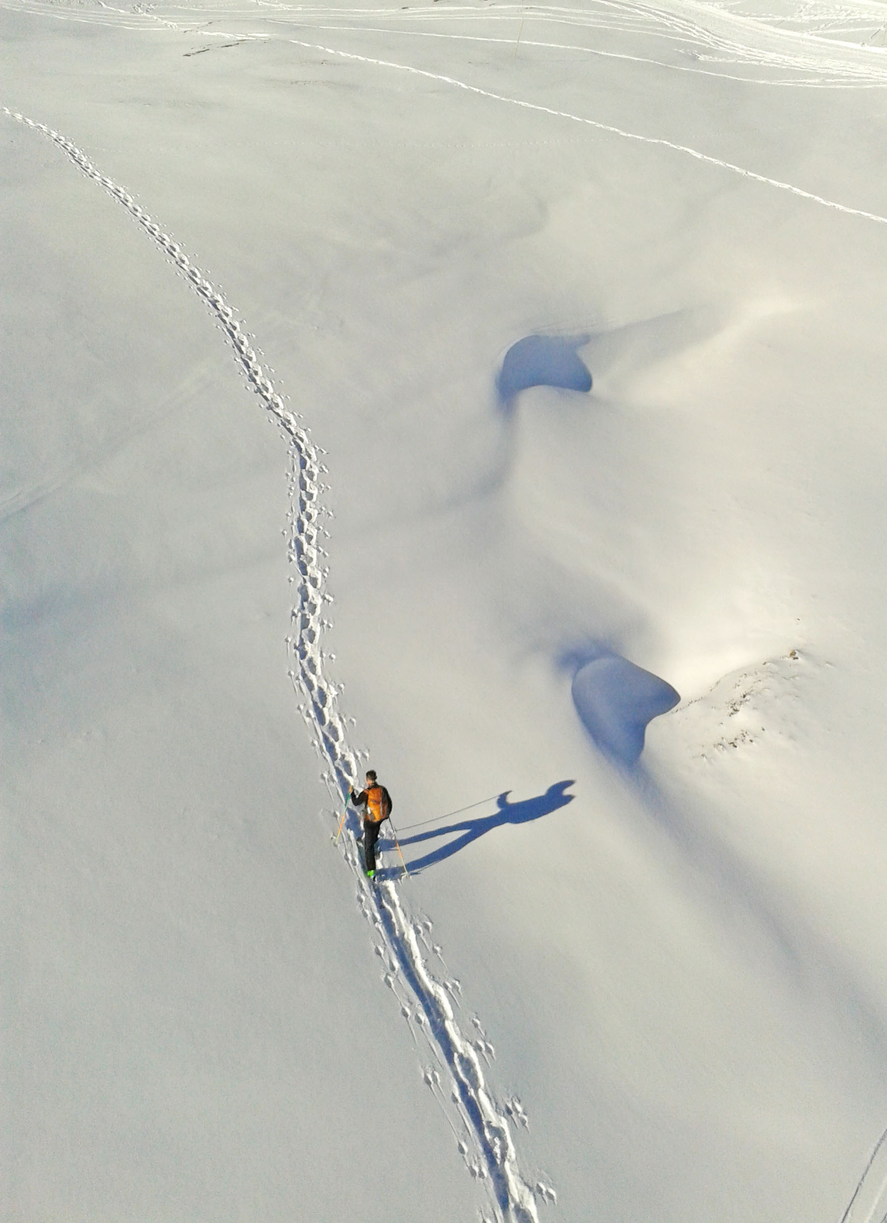 Tauplitz Alm, Winterwanderung