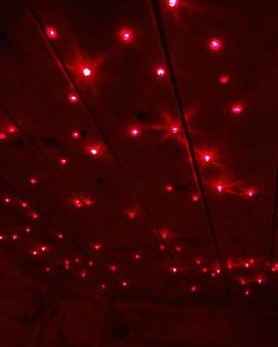 Der Sternenhimmel in der Sauna