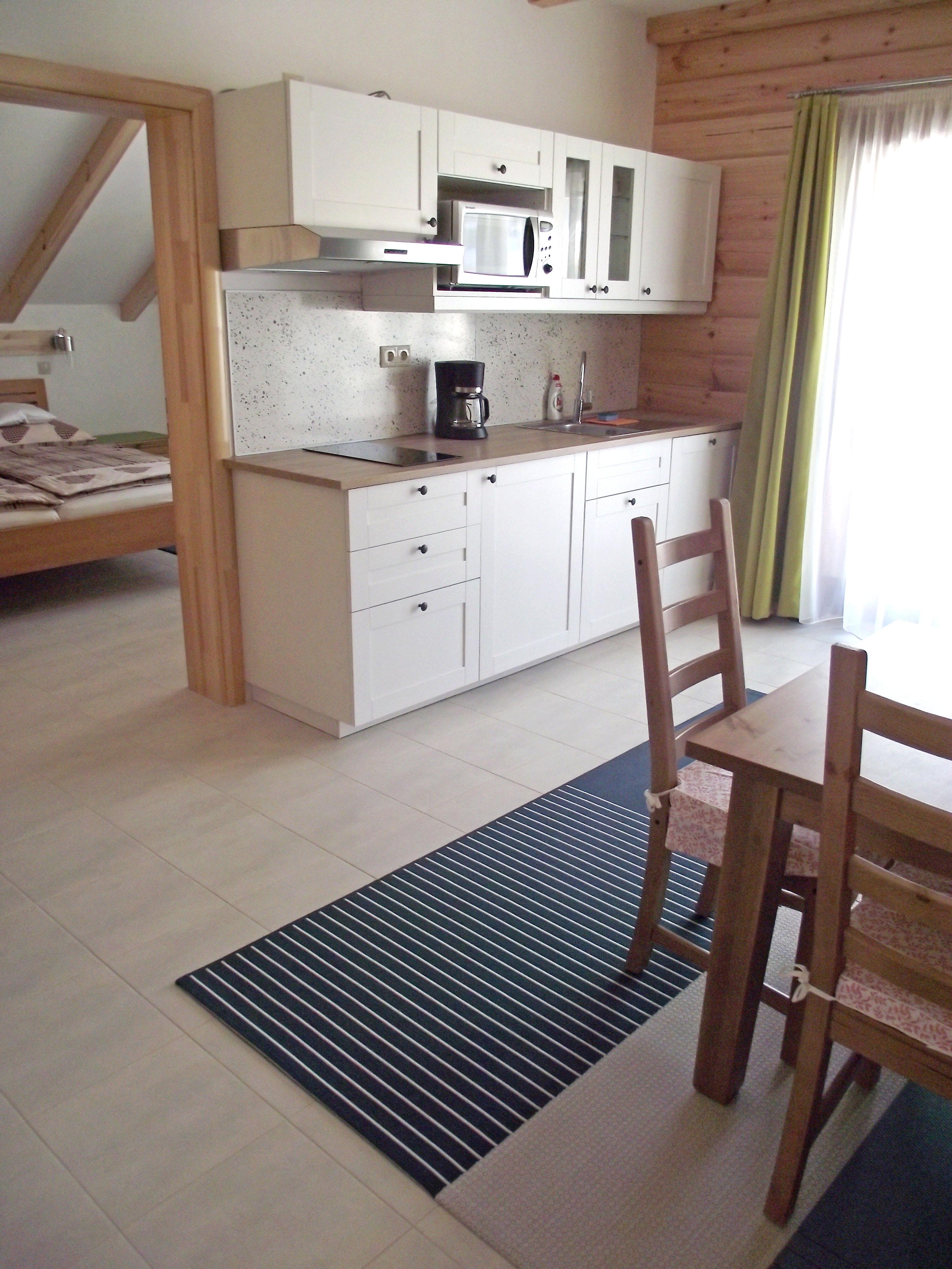 Küche, Ferienwohnung Enzian