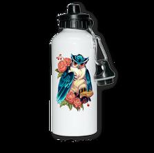 Бутылка алюминевая с печатью
