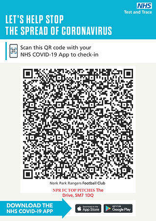 NPR FC COVID TRACK AND TRACE QR CODE FOR