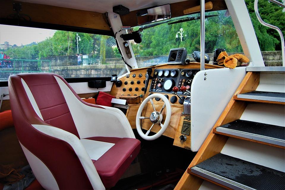 Photo d'électronique d'un bateau
