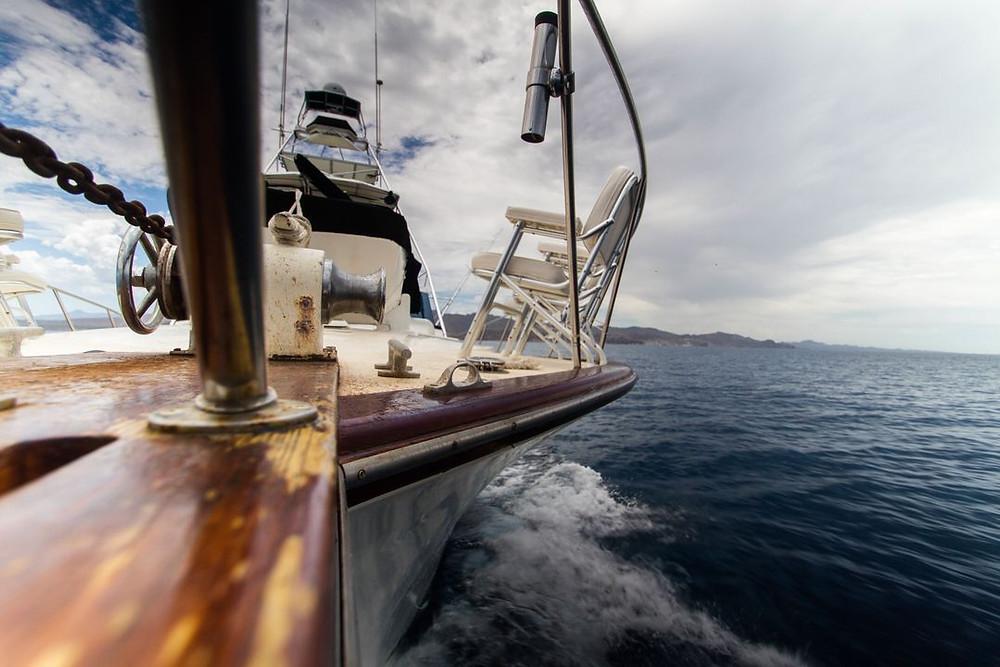 Photo de sellerie d'un bateau